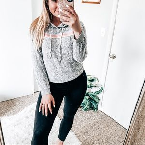 Inspired hearts rainbow sweater